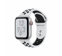 Apple Watch Nike+ Series 4 GPS Cell 40mm Silver Alu Nike Band MTX62FD/A