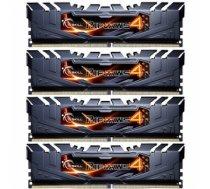 G.Skill F4-2400C15Q-32GRK DDR4 32GB (4x8GB) Ripjaws4 2400MHz CL15 XMP2 Black F4-2400C15Q-32GRK