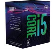 CPU|INTEL|Core i5|i5-8400|Coffee Lake|2800 MHz|Cores 6|9MB|Socket LGA1151|65 Watts|GPU HD 630|BOX|BX80684I58400SR3QT