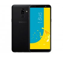 Samsung J810F-DS Galaxy J8 (2018) Dual LTE 32GB 3GB RAM Black Arab
