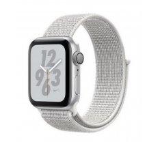 Apple Watch Series 4 MU7F2 Nike+ 40mm Aluminium Silver Sport Loop White (ZP-A) - Asia Spec