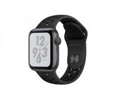 Apple Watch Series 4 MU6J2 Nike+ 40mm Aluminium Space Grey SportBand Black (ZP-A) - Asia Spec