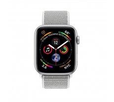 Apple Watch Series 4 MU652 40mm Aluminium Silver Sport Loop Seashell (ZP-A) - Asia Spec
