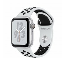 Apple Watch Series 4 MU6H2 Nike+ 40mm Aluminium Silver SportBand Black (ZP-A)