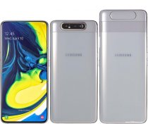 Samsung A805F-DS Galaxy A80 Dual LTE 128GB 8GB RAM Ghost White - EU Spec, Region Locked