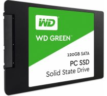 Western Digital SSD 120GB 2.5' WD Green SATA3 R/W:540/430 MB/s 7mm 3D NAND WDS120G2G0A