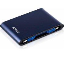 External HDD Silicon Power Armor A80 2.5'' 500GB USB 3.0, IPX7, waterproof, Blue SP500GBPHDA80S3B