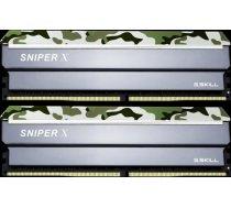 G.Skill Sniper X DDR4 16GB (2x8GB) 2400MHz CL17 1.2V Classic Camo F4-2400C17D-16GSXF