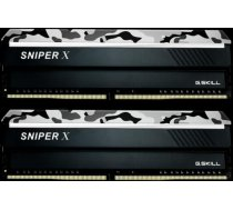 G.Skill Sniper X DDR4 16GB (2x8GB) 2400MHz CL17 1.2V Urban Camo F4-2400C17D-16GSXW