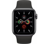 Apple Watch 5 GPS 40mm Sport Band, space grey/black MWV82EL/A