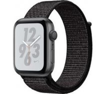 Apple Watch Nike+ Series 4 GPS, 40mm Space Grey Aluminium Case with Black Nike Sport Loop MU7G2WB/A