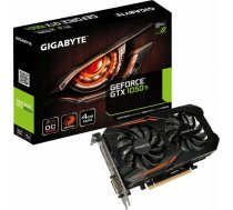 Gigabyte GeForce GTX 1050 Ti OC 4G, 4GB GDDR5, 3D Active Fan