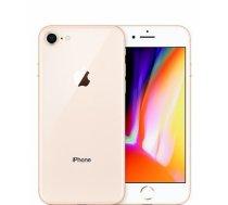"Smartphone   APPLE   iPhone 8   64 GB   Gold   3G   LTE   OS iOS 11   Screen  4.7""   1334 x 750   IPS-LCD   Single SIM   1xNano-SIM card tray   1xLightning   Camera 12MP   7MP   Fingerprint reader   Battery 1821 mAh   MQ6J2"