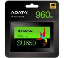 Adata SSD Ultimate SU650 960G 2.5 S3 3D TLC Retail / ASU650SS-960GT-R