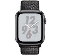 Apple Watch Series 4 Sport 40mm (GPS only) Nike Plus Aluminium Grey Sport Loop Band Black