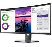 """Dell LCD U3419W 86.5cm(34"""")/LED/IPS/Antiglare/21:9/3440x1440/300cdm2/8ms/178-178/DP,2xHDMI,6xUSB/Tilt,VESA/Black"""