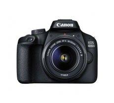 Spoguļkamera Canon EOS 4000D + 18-55mm III Kit, black