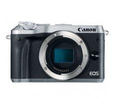 Canon EOS M6 body silver, black