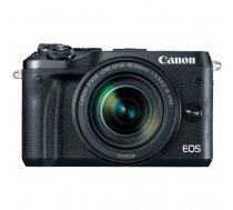 Canon EOS M6 + EF-M 18-150mm IS STM, silver, black