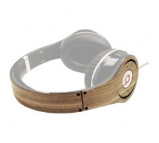Lazerwood headphone cover Wooden Beats Studio Walnut