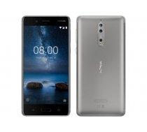 BEZMAKSAS PIEGĀDE! Nokia 8.1 Dual 64GB 4GB RAM Steel (TA-1012 SS) /+DĀVANA! IR VEIKALĀ!
