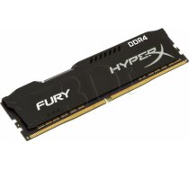 KINGSTON HyperX FURY DDR4 8GB 2933MHz CL17 Black HX429C17FB2/8