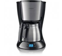 Philips Daily Collection Coffee maker HD7470/20 With stainless steel jug Black & metal / HD7470