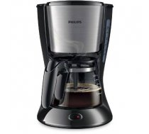 Philips Daily Collection Coffee maker HD7435/20 With glass jug Black & metal / HD7435/20