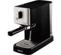 KRUPS Manuālais espresso kafijas automāts,15bar, melna/sudrabaina - XP3440