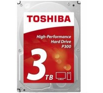 Dysk twardy Toshiba P300, 3.5'', 3TB, SATA/600, 7200RPM, 64MB cache HDWD130UZSVA