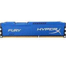 DDR3 Kingston HyperX Fury Blue 8GB 1600MHz CL10 1.5V HX316C10F/8