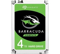 Internal HDD Seagate BarraCuda 3.5'' 4TB SATA3 5400RPM 256MB ST4000DM004