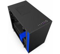 NZXT computer case H200i Black/Blue CA-H200W-BL