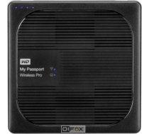 Western Digital External HDD WD My Passport Wireless Pro 2.5'' 2TB WiFi Black WDBP2P0020BBK-EESN