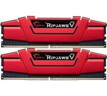 G.skill Memory DDR4 16GB (2x8GB) RipjawsV 3000MHz CL16 XMP2 Red F4-3000C16D-16GVRB