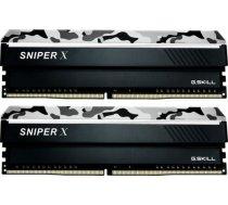 Pamięć G.Skill Sniper X DDR4, 2x8GB, 3200MHz, CL16 (F4-3200C16D-16GSXWB)