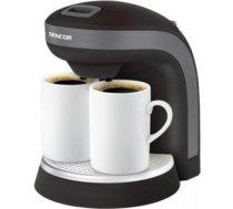 Sencor kafijas un tējas vārītājs 350w, 2 porcelāna krūzes 0.3l, melns, Sencor LA854SCE2000BK