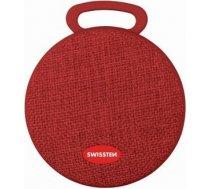 Swissten X-STYLE Portatīvs Bezvadu Skaļrunis Bluetooth 4.0 / 3W / Micro SD / Sarkana X-STYLE-BK