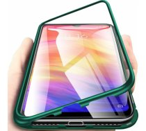 Noname Etui Magnetyczne Front+Back Xiaomi Mi 9 Lite-Green uniwersalny