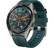 HUAWEI WATCH GT GREY WITH GREEN RUBBER STRAP 55023721