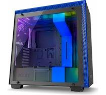 Obudowa Nzxt H700i matowa czarna niebieska (CA-H700W-BL)