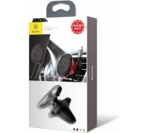 Baseus Car Mount Magnetic Air Vent Phone Holder with Cable clip Black (SUGX-A01)