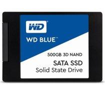 """WD Blue 2.5"""" 500GB SATA3 SSD disks WDS500G2B0A BLUE  500GB SATA3 SSD DISKS S500G2B0A"""