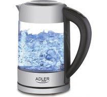 Czajnik elektryczny Adler AD 1247 (2200W 1.7l; kolor srebrny)