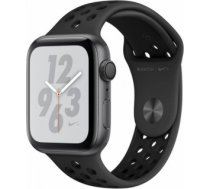 Apple Watch Series 4 Nike+ 44mm Space Gray Case / Black Nike Band viedā aproce MU6L2