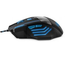 ESPERANZA EGM201B WIRED 7D GAMING OPTICAL MOUSE USB MX201 - WOLF - BLUE EGM201B - 5901299925447