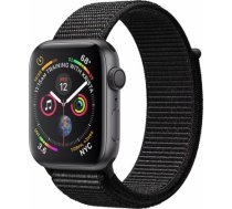 Apple Watch Series 4 40mm Space Grey Case / Black Loop viedā aproce MU672ZP/ A WATCH SERIES 4 40MM SPACE GREY CASE / BLACK LOOP VIEDĀ APROCE MU