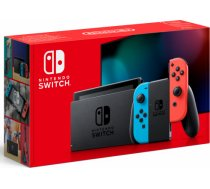 Nintendo Switch with Neon Red and Blue Joy-Con - New Version KABAA/NR