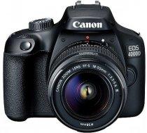 Canon EOS-4000D Kit EF-S 18-55 III spoguļkamera