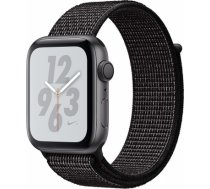 Apple Watch Series 4 Nike+ 40mm Space Gray Case / Black Loop viedā aproce MU7G2ZP/ A WATCH SERIES 4 NIKE+ 40MM SPACE GRAY CASE / BLACK LOOP VIEDĀ APR